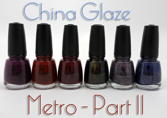 China Glaze Metro Part 2 China Glaze Metro Collection for Fall 2011 Swatches, Photos & Review   Part II