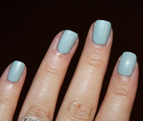 Essie Sag Harbor vs China Glaze Sea Spray 1