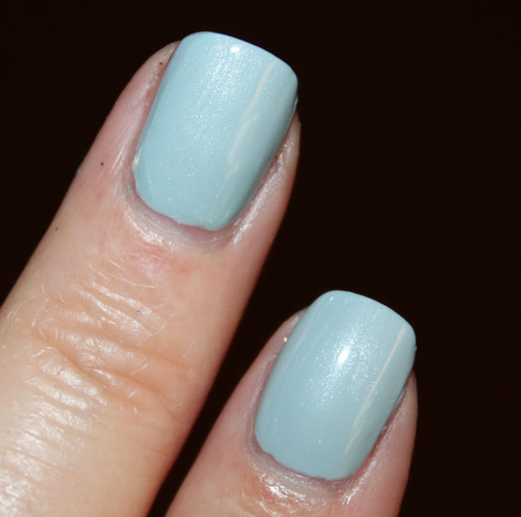 Essie Sag Harbor vs China Glaze Sea Spray 2