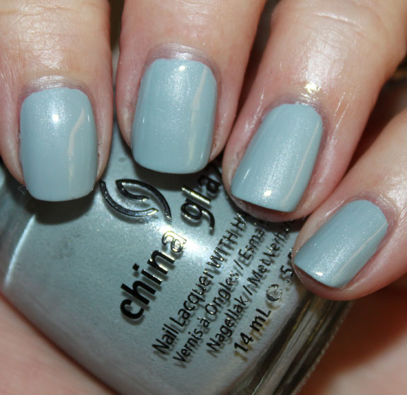 Essie Sag Harbor vs China Glaze Sea Spray