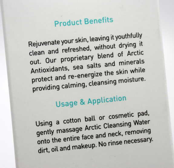 Freya Arctic Cleansing Water 21 Freya Scandinavian Skin Science Arctic Cleansing Water Review