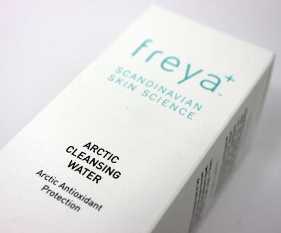 Freya Arctic Cleansing Water Freya Scandinavian Skin Science Arctic Cleansing Water Review