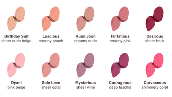 Josie Maran Argan Infused Lipsticks