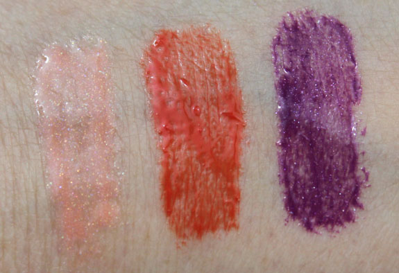 MAC Bloggers' Obsession Lipglass Swatches