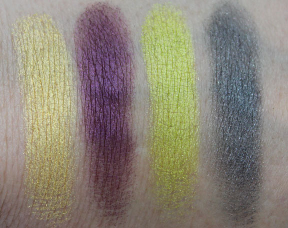 MAC Colourizations Swatch 1 and 2
