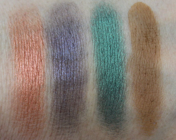 MAC Colourizations Swatch 8 and 4