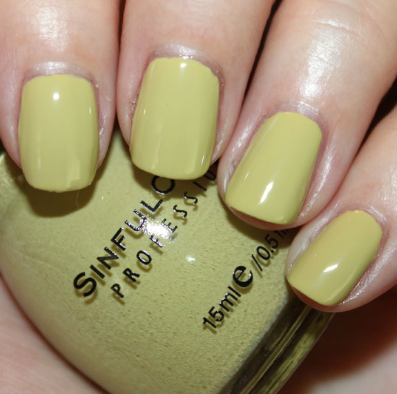 Sinful Colors Adventure Island Swatch