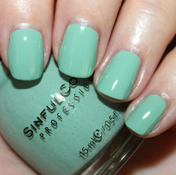 Sinful Colors Open Seas Swatch