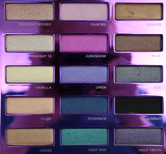 Urban Decay 15th Anniversary Palette 5