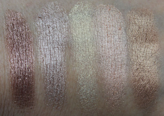 Urban Decay 15th Anniversary Palette Swatch 1