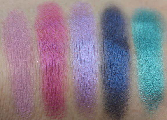 Urban Decay 15th Anniversary Palette Swatch 2
