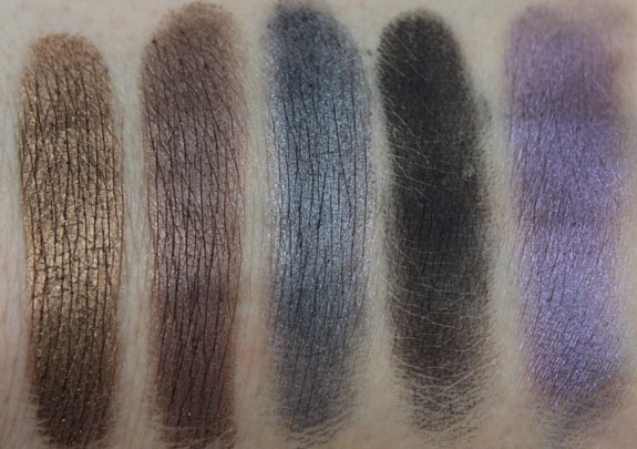 Urban Decay 15th Anniversary Palette Swatch 3