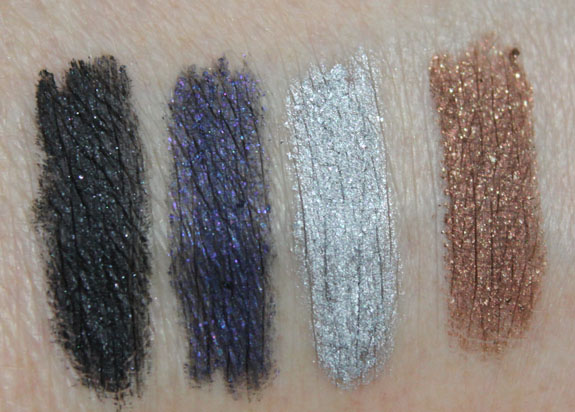 Wet n Wild Coloricon Shimmer Eye Liner Swatches