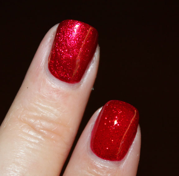 Zoya Karina vs China Glaze Ruby Pumps Swatch 3