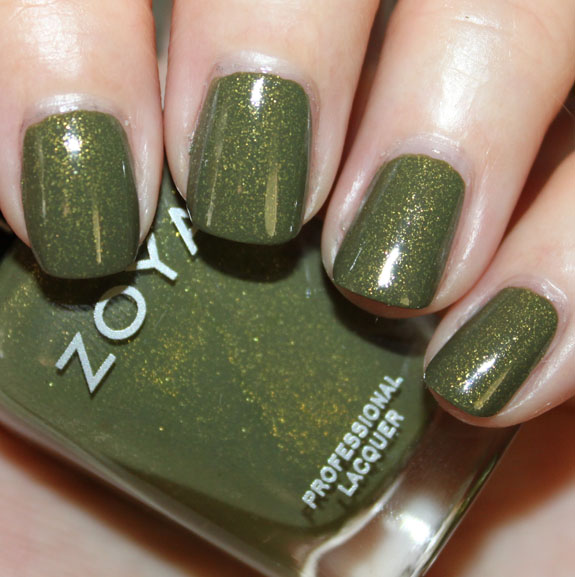 How To Make Olive Green Nail Polish: Zoya Mirrors Collection For Fall 2011 Swatches, Photos