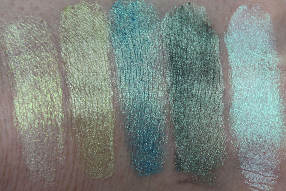 Jesse s Girl Eye Dust Swatches
