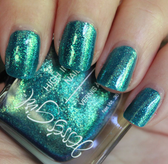 Jesse\'s Girl High Intensity Nail Color in Glee Swatches & Review ...