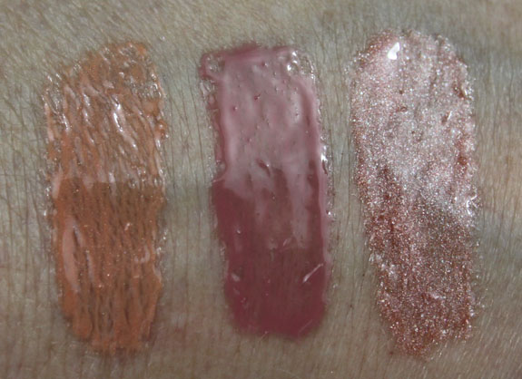 MAC Me Over MAC Basics Lipglass Swatches