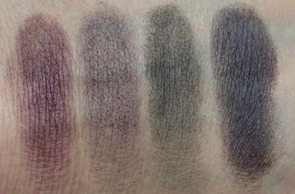 MAC Me Over New Black Evil Eye Swatches