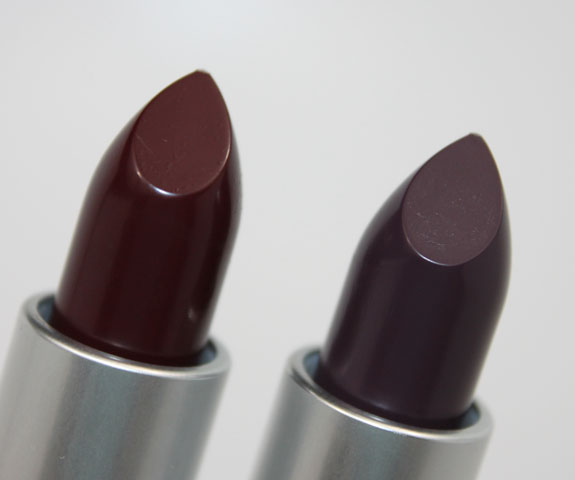 MAC Me Over! for Fall 2011 New Black Collection Swatches ... Mac Lipstick Prince Noir