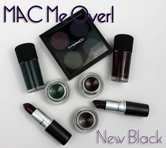 MAC Me Over New Black