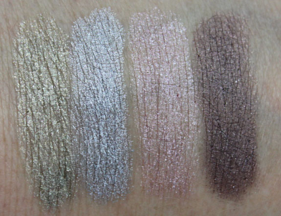 MAC Me Over Shadestick Swatches
