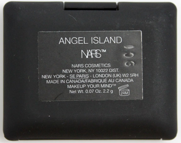 NARS Angel Island 3