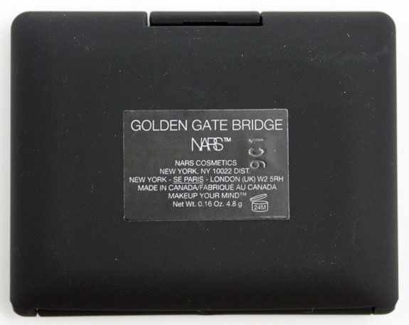 NARS Golden Gate Bridge 4