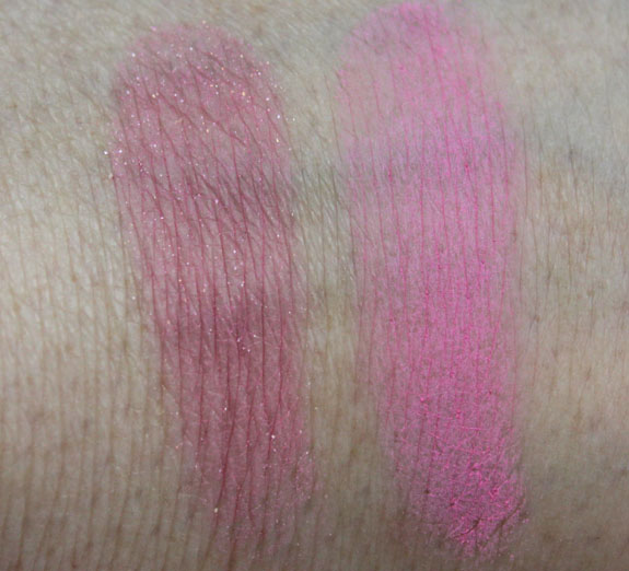 E l f Blush Swatches