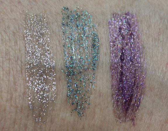 Fantasy Makers Glitter Eyeliner Swatches