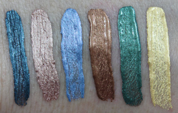 Hard Candy Eye Def Metallic Eyeshadow Swatch