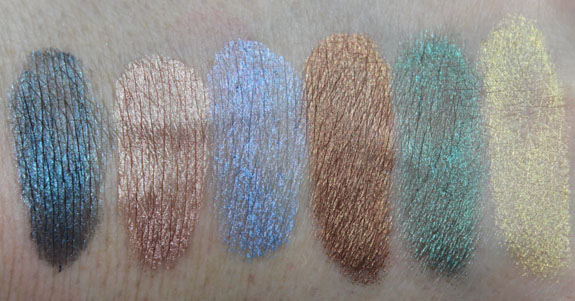 Hard Candy Eye Def Metallic Eyeshadow Swatches 2