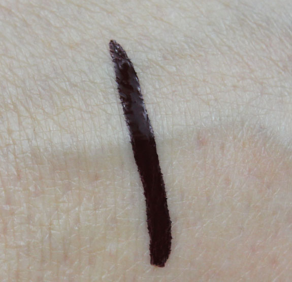 Illamasqua Precision Ink Havoc Swatch Illamasqua Theatre of the Nameless Precision Ink in Havoc