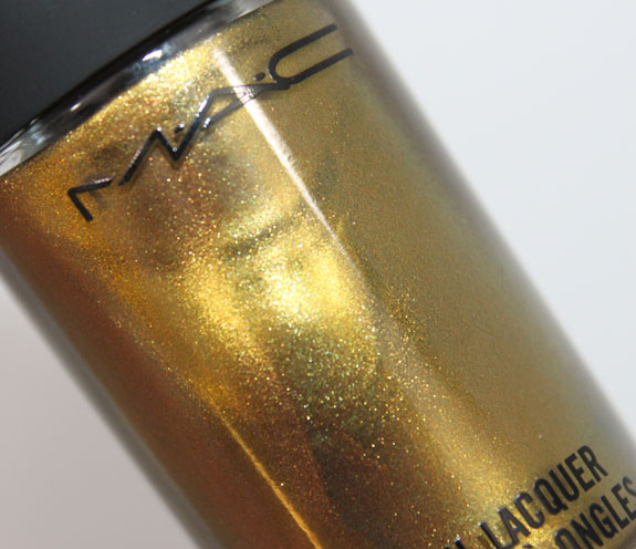 MAC Immortal Gold Nail Lacquer 2