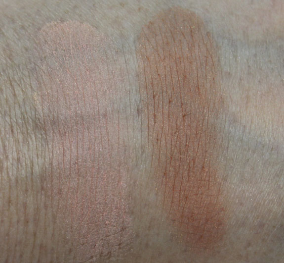 MAC In The Abstract and Optical Bronzer Swatches
