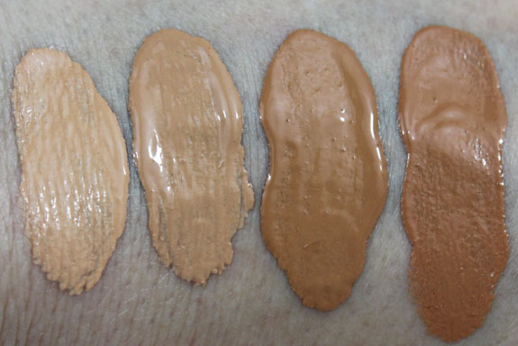 MAC Matchmaster Foundation Swatches