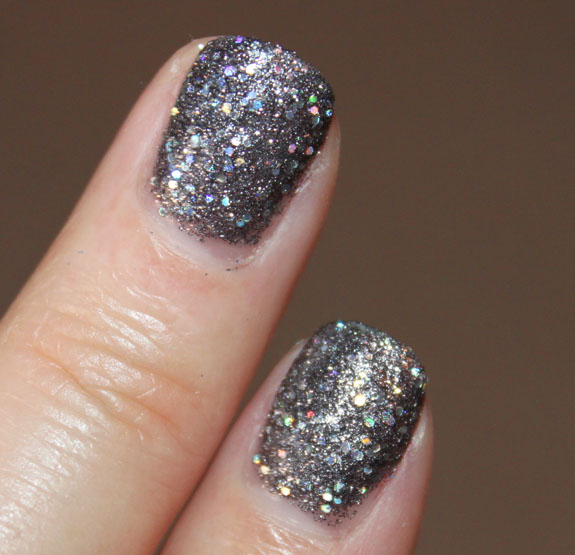 Does Glitter Nail Polish Last Longer: Nails Inc. Special Effects 3D Glitter Nail Polish Swatches