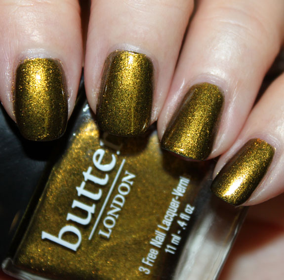 Butter London Wallis Bluey For Fall 2011 Swatches Photos Review