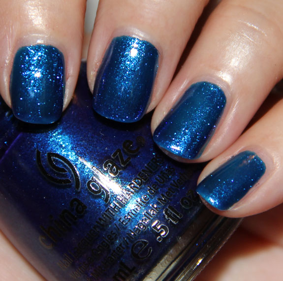 China Glaze Blue Years Eve China Glaze Let It Snow for Holiday 2011 Swatches, Photos & Review