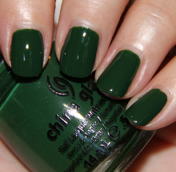 China Glaze Holly Day China Glaze Let It Snow for Holiday 2011 Swatches, Photos & Review