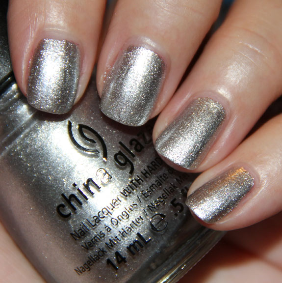 China Glaze Icicle China Glaze Let It Snow for Holiday 2011 Swatches, Photos & Review