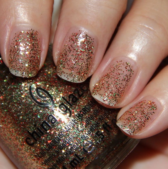 China Glaze Twinkle Lights China Glaze Let It Snow for Holiday 2011 Swatches, Photos & Review