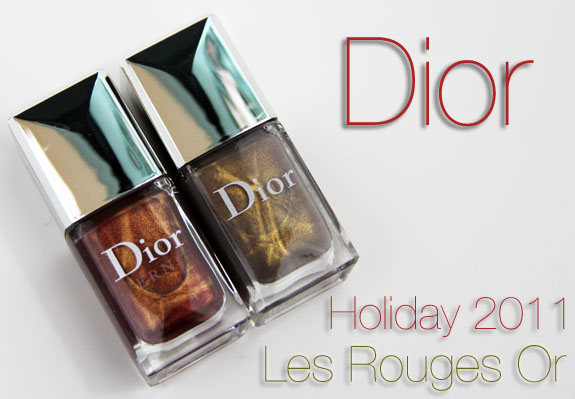Dior Les Rouges Or Holiday 2011
