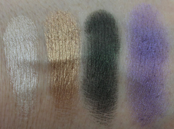 LORAC Bejeweled Night Palette Row 1