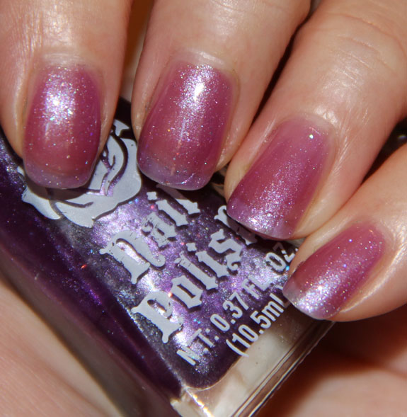 Nail Polish Purple