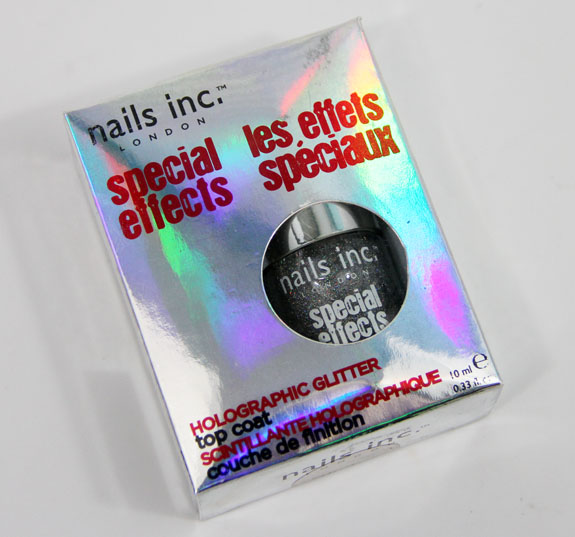 Nails Inc Special Effects Holographic Top Coat Electric Lane
