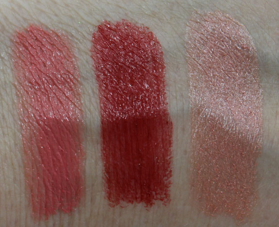 Nuance Color Vibrance Lipstick Swatches