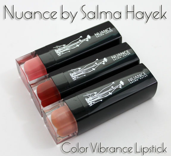 Nuance Color Vibrance Lipstick Nuance by Salma Hayek Color Vibrance Lipstick Swatches, Photos & Review