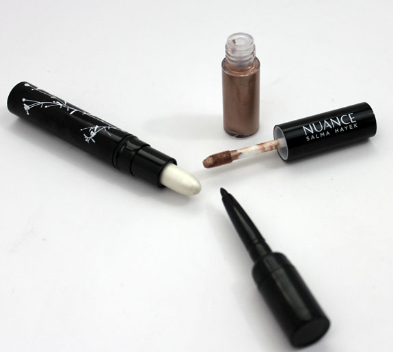 Nuance Lights Camera Action Eye Trio Champagne Gold Shimmer