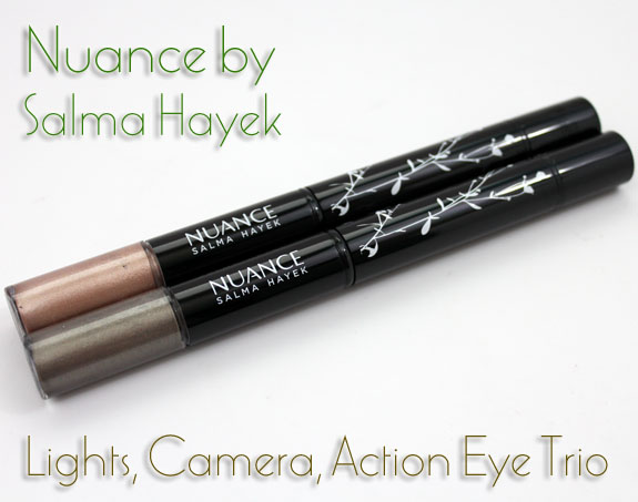 Nuance Lights Camera Action Eye Trio Nuance by Salma Hayek Lights, Camera, Action Eye Trio Swatches, Photos & Review
